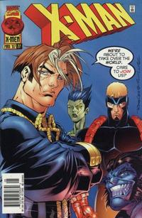 Cover Thumbnail for X-Man (Marvel, 1995 series) #27 [Newsstand Edition]