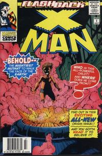 Cover Thumbnail for X-Man (Marvel, 1995 series) #-1 [Newsstand Edition]