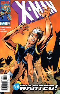 Cover Thumbnail for X-Man (Marvel, 1995 series) #34 [Direct Edition]