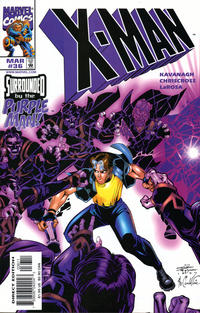 Cover Thumbnail for X-Man (Marvel, 1995 series) #36 [Direct Edition]