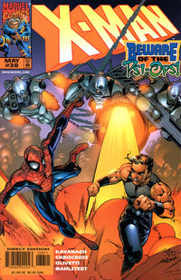 Cover Thumbnail for X-Man (Marvel, 1995 series) #38 [Direct Edition]