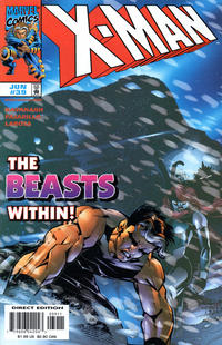 Cover Thumbnail for X-Man (Marvel, 1995 series) #39 [Direct Edition]