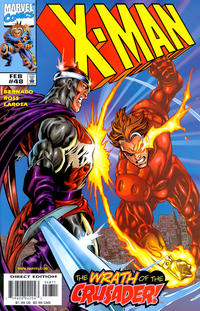 Cover Thumbnail for X-Man (Marvel, 1995 series) #48 [Direct Edition]
