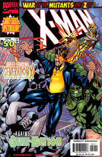 Cover Thumbnail for X-Man (Marvel, 1995 series) #50 [Direct Edition]