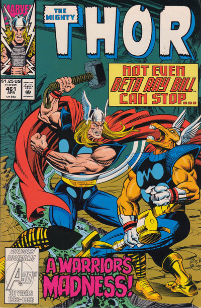 Cover for Thor (Marvel, 1966 series) #461