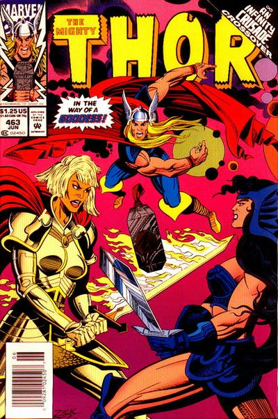 Cover for Thor (Marvel, 1966 series) #463 [Direct]