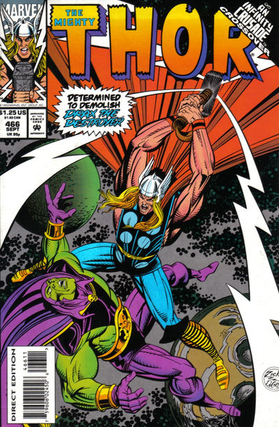 Cover for Thor (Marvel, 1966 series) #466