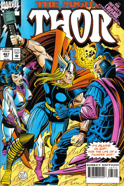 Cover for Thor (Marvel, 1966 series) #467