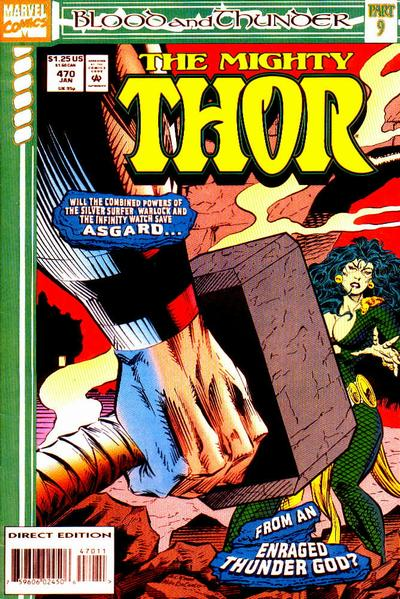 Cover for Thor (Marvel, 1966 series) #470
