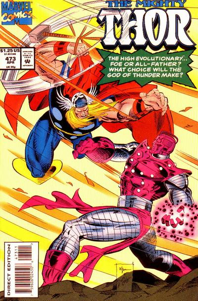 Cover for Thor (Marvel, 1966 series) #473