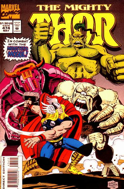 Cover for Thor (Marvel, 1966 series) #474