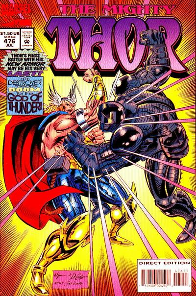 Cover for Thor (Marvel, 1966 series) #476