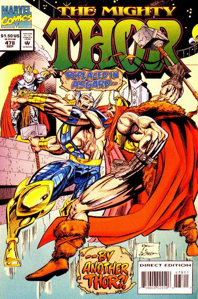 Cover for Thor (Marvel, 1966 series) #478