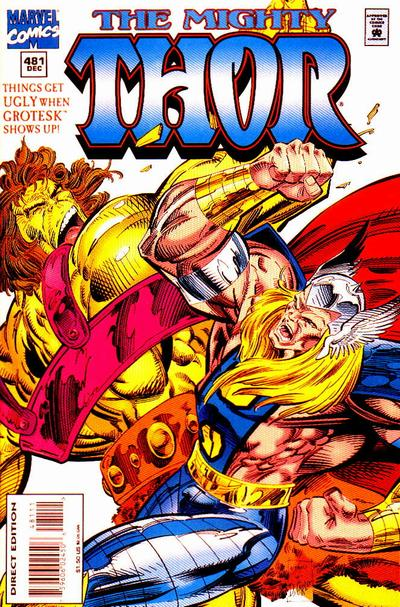 Cover for Thor (Marvel, 1966 series) #481