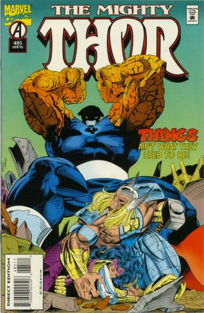 Cover for Thor (Marvel, 1966 series) #485