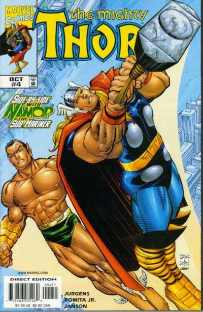 Cover for Thor (Marvel, 1998 series) #4