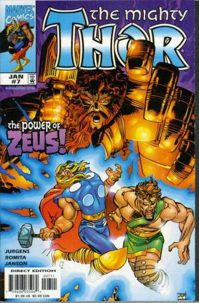 Cover for Thor (Marvel, 1998 series) #7