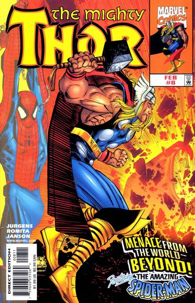 Cover for Thor (Marvel, 1998 series) #8