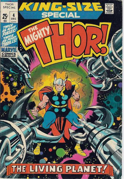 Cover for Thor Annual (Marvel, 1966 series) #4