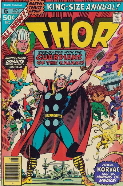 Cover for Thor Annual (Marvel, 1966 series) #6