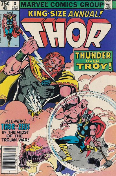 Cover for Thor Annual (Marvel, 1966 series) #8