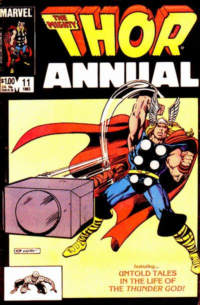 Cover for Thor Annual (Marvel, 1966 series) #11 [Direct]
