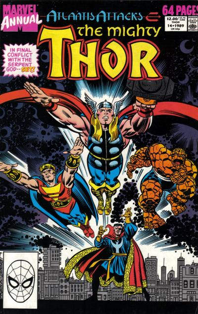 Cover for Thor Annual (Marvel, 1966 series) #14