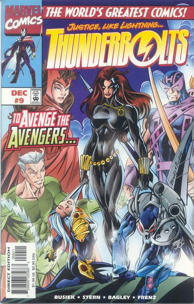 Cover for Thunderbolts (Marvel, 1997 series) #9