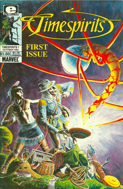 Cover for Timespirits (Marvel, 1984 series) #1