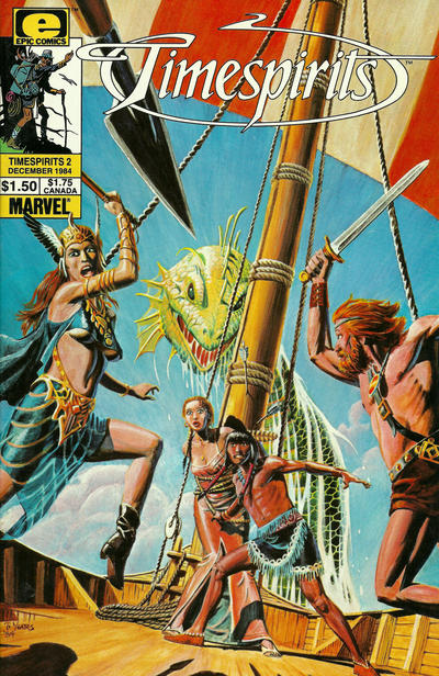 Cover for Timespirits (Marvel, 1984 series) #2