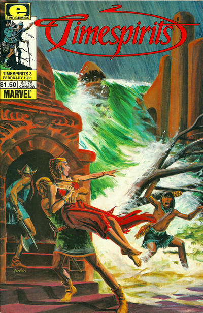 Cover for Timespirits (Marvel, 1984 series) #3