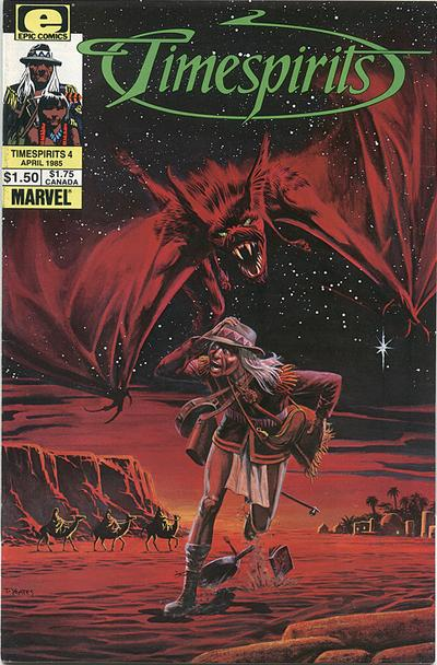 Cover for Timespirits (Marvel, 1984 series) #4