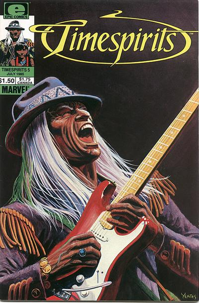 Cover for Timespirits (Marvel, 1984 series) #5