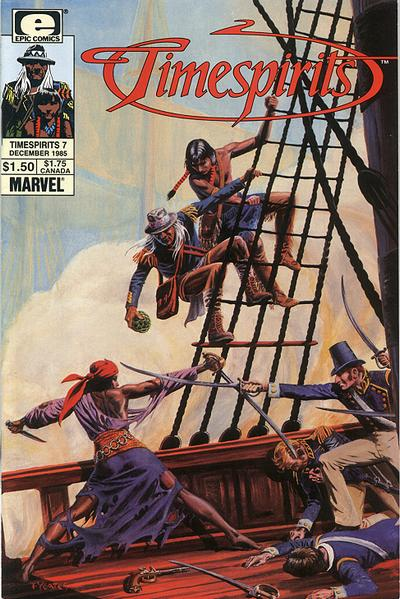 Cover for Timespirits (Marvel, 1984 series) #7