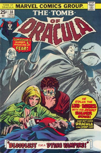 Cover for Tomb of Dracula (Marvel, 1972 series) #38