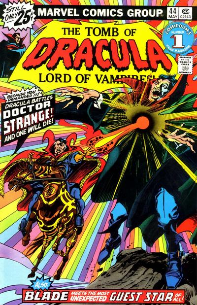 Cover for Tomb of Dracula (Marvel, 1972 series) #44
