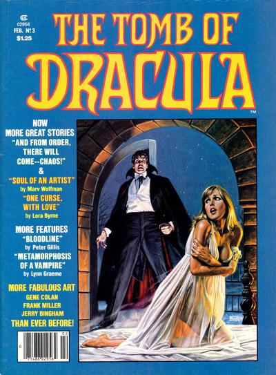 Cover for The Tomb of Dracula (Marvel, 1979 series) #3