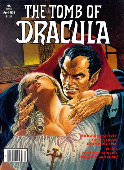 Cover for The Tomb of Dracula (Marvel, 1979 series) #4