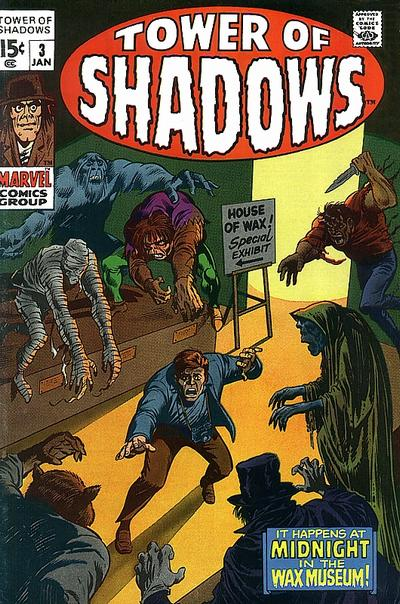 Cover for Tower of Shadows (Marvel, 1969 series) #3