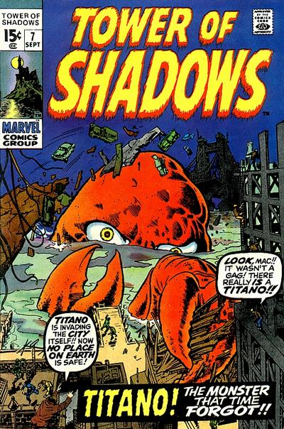 Cover for Tower of Shadows (Marvel, 1969 series) #7