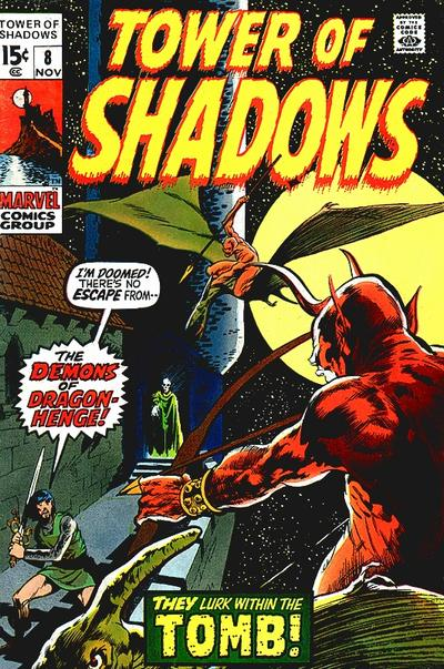 Cover for Tower of Shadows (Marvel, 1969 series) #8
