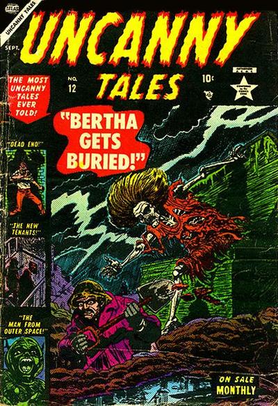Cover for Uncanny Tales (Marvel, 1952 series) #12