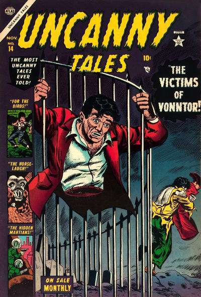 Cover for Uncanny Tales (Marvel, 1952 series) #14