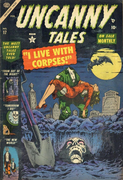 Cover for Uncanny Tales (Marvel, 1952 series) #17