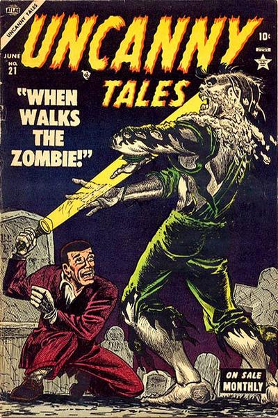 Cover for Uncanny Tales (Marvel, 1952 series) #21