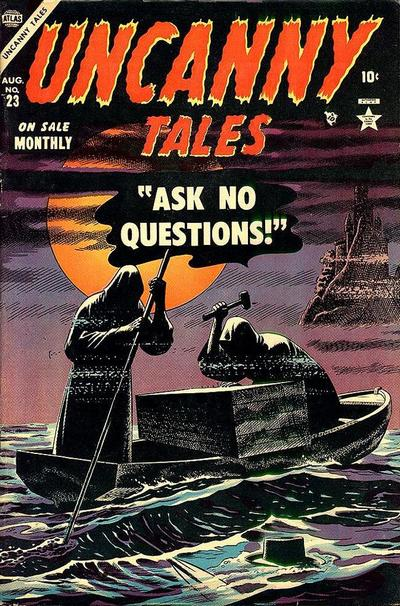 Cover for Uncanny Tales (Marvel, 1952 series) #23