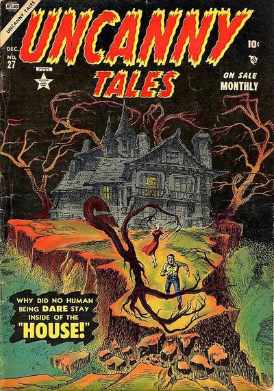 Cover for Uncanny Tales (Marvel, 1952 series) #27