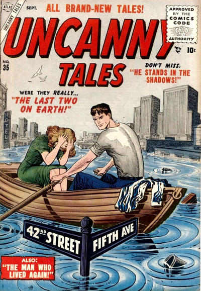 Cover for Uncanny Tales (Marvel, 1952 series) #35