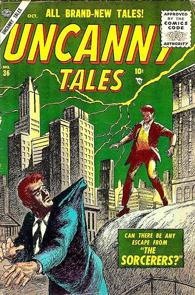 Cover for Uncanny Tales (Marvel, 1952 series) #36