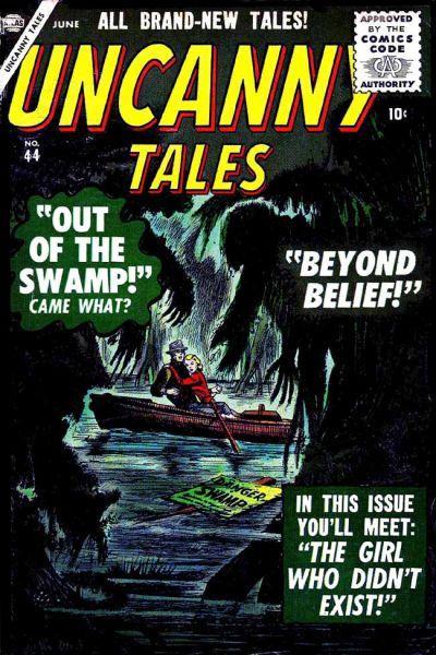 Cover for Uncanny Tales (Marvel, 1952 series) #44